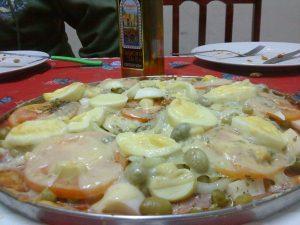massa caseira para pizza