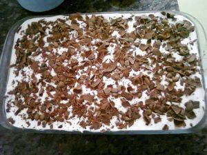 pave simples de biscoito maria