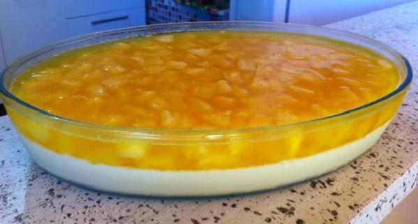 Sobremesa de Abacaxi com Gelatina
