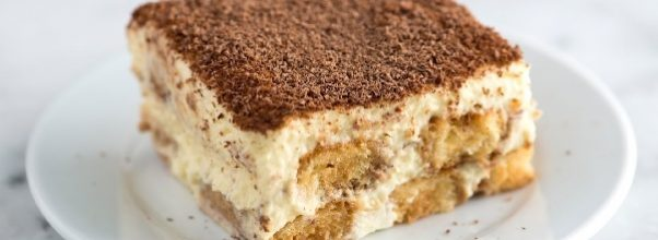 tiramisu facil com cream cheese