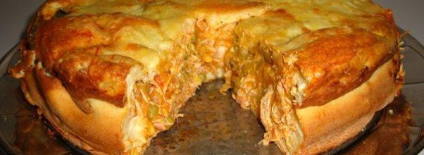 torta de frango com mussarela 1