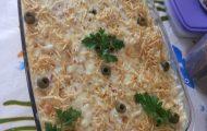 torta de frango com pao de forma