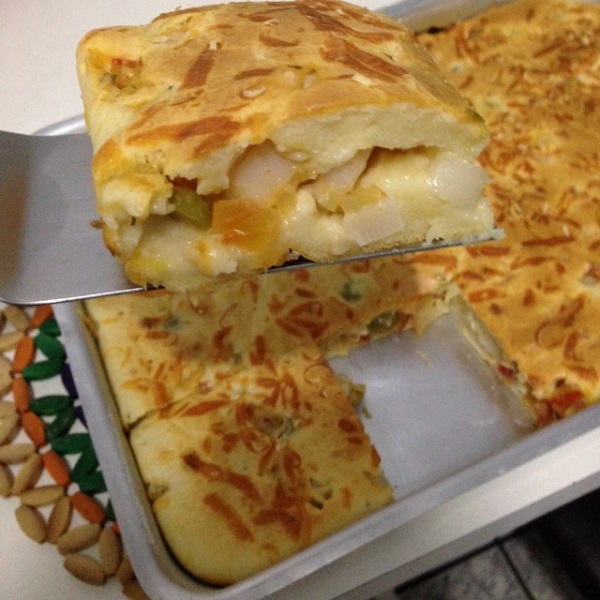 Torta de Palmito Fácil