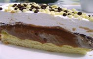 torta doce de 3 camadas