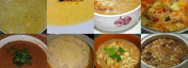 10 receitas faceis e rapidas de sopa