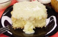 bolo de leite de coco