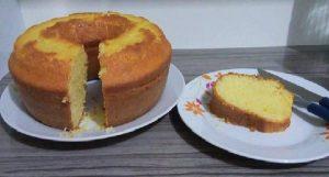 bolo delicioso e fofinho
