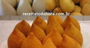 massa de coxinha com batata