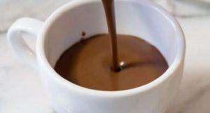 o verdadeiro chocolate quente