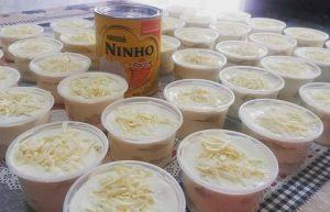 recheio de leite ninho para bolos de pote 1