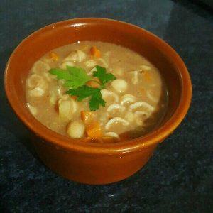 sopa de feijão com macarrao 1
