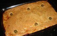 torta de frango de liquidificador