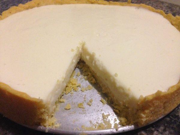 Torta de Limão Leve