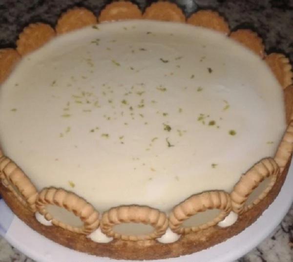 Torta de Limão Trufada