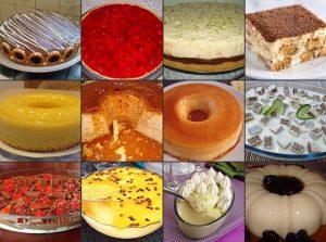 12 sobremesas faceis para o dia dos pais