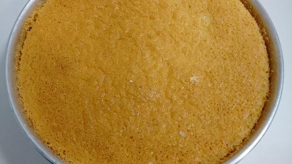Pão de ló especial para bolos artísticos com pasta americana