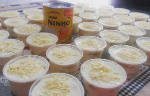 recheio de leite ninho para bolos de pote