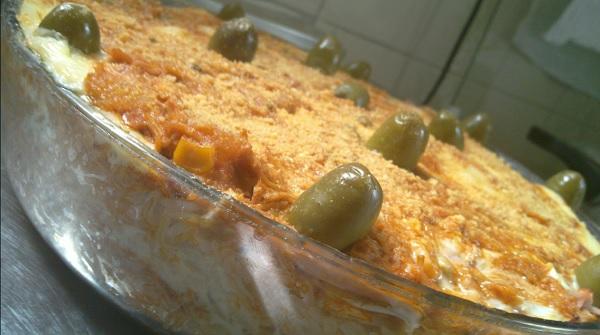 risoto de frango a brasileira