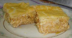 torta de frango cremoso