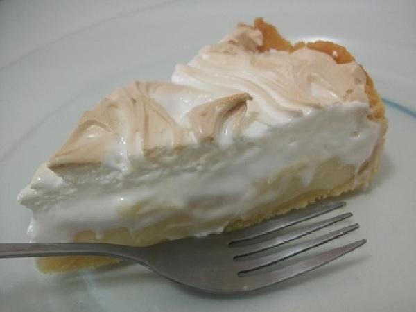 Torta de Limão Tradicional