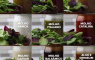 9 receitas rapidas de molho para salada
