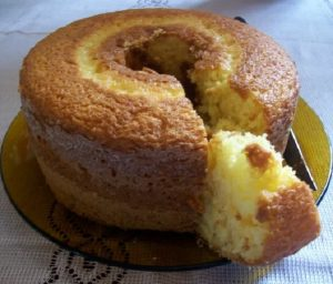 bolo de laranja facil e fofinho