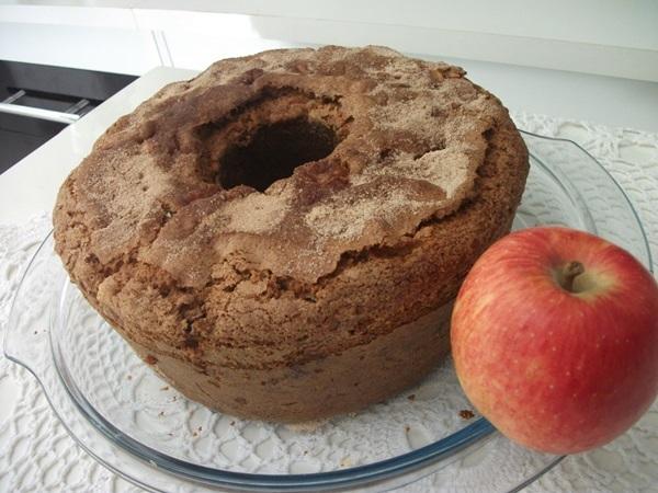 bolo de maca com canela de liquidificador
