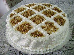 bolo de nozes para festas