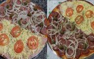 massa de pizza caseira facil