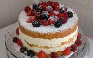 naked cake de ninho trufado