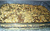 pave de chocolate com doce de leite e amendoim (charge)