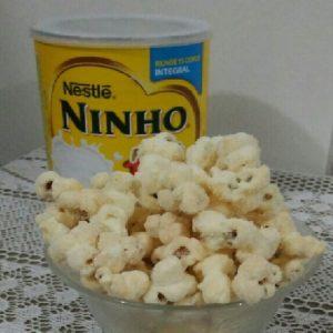 pipoca de leite ninho facil