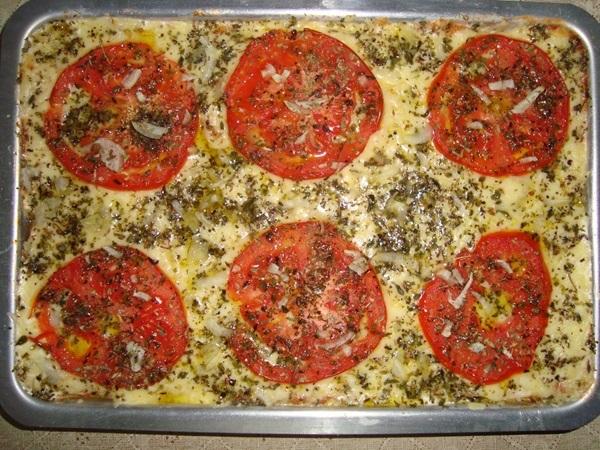 pizza de pao de forma