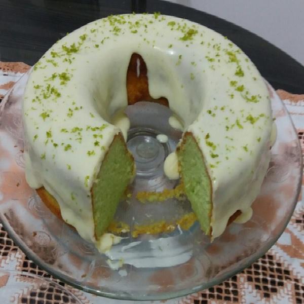 bolo de limao verde