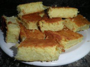 bolo de milho cremoso de liquidificador