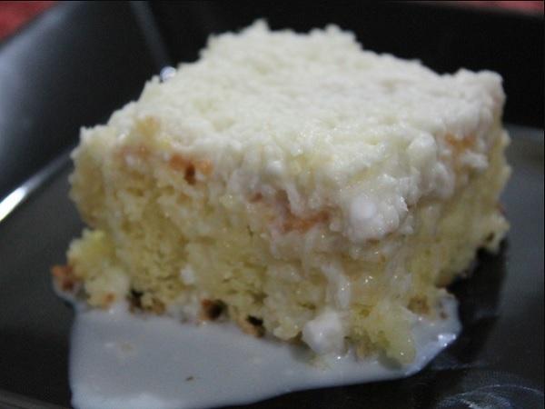 bolo gelado de liquidificador