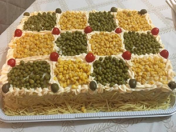 Torta Fria de Frango com Catupiry
