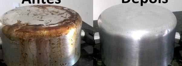 Aprenda como limpar panelas queimadas de gordura com facilidade