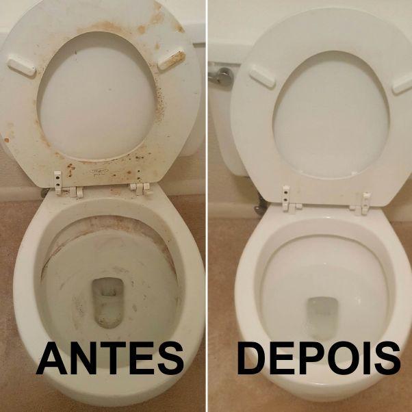 Aprenda como limpar vaso sanitário com 2 produtos que você tem em casa