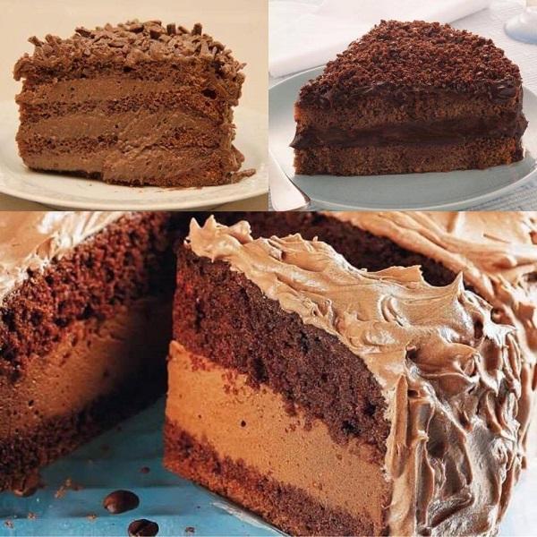 mousse de chocolate para recheio de bolo