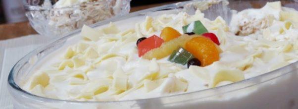 pavê de leite ninho fácil - uma sobremesa para o natal deliciosa!