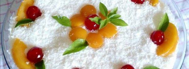 pavê de pêssego - sobremesa para o natal