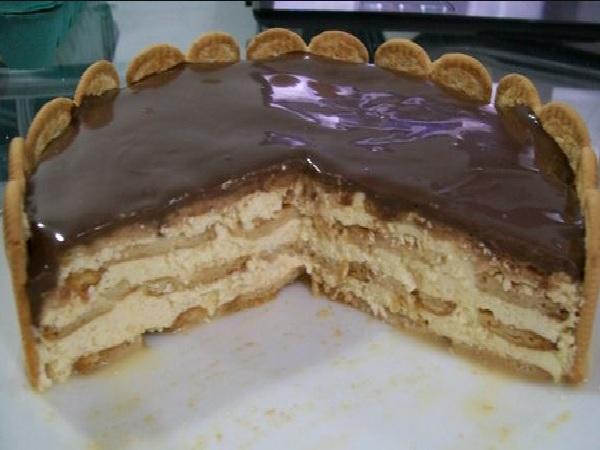 Torta Alemà Com Bolacha Maisena