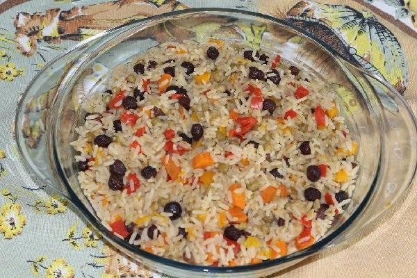 arroz à grega rápido