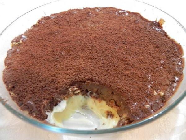 Pavê de Chocolate com Creme Belga