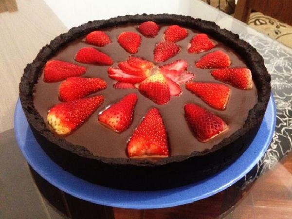 Torta de Chocolate Fácil e Rápida