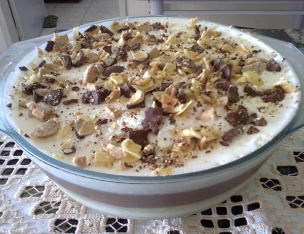 Torta de Sorvete com Bombom Sonho de Valsa
