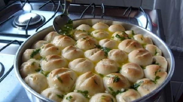 pão de alho fofinho