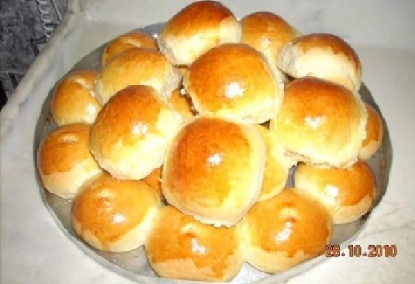 pãozinho recheado de liquidificador