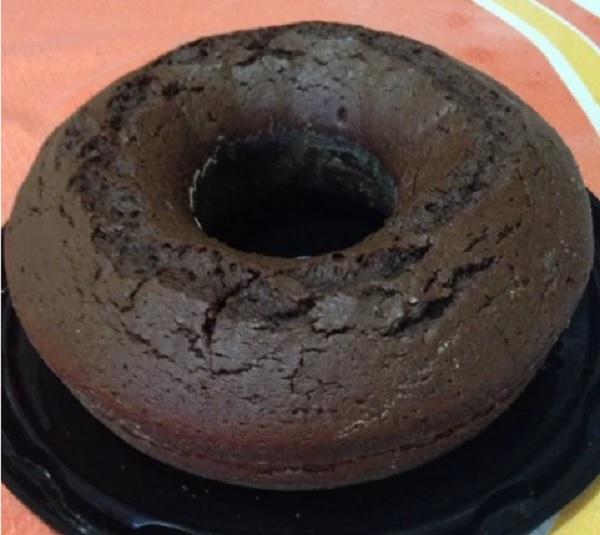 bolo de chocolate simples de liquidificador